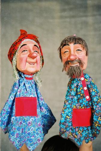 Как сделать куклу папье-маше для театра